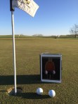 My friend, Todd, takes Larry golfing, The Highlands of Elgin, IL.