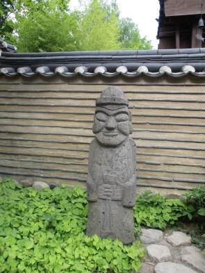 Koreanische Steinfigur