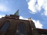 Blick zum Kirchturm