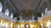 Blick vom Altarraum zur Orgel