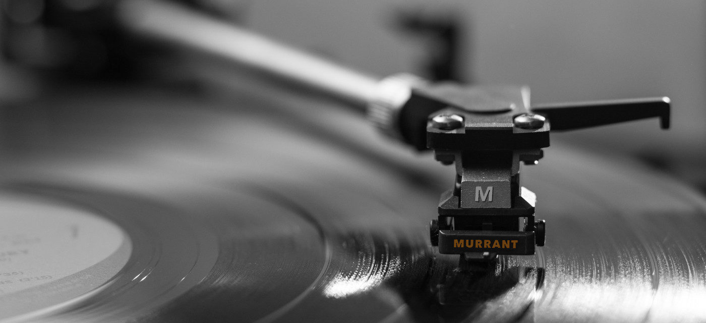 "Background image of record player for Murrant ""Msic"" page"