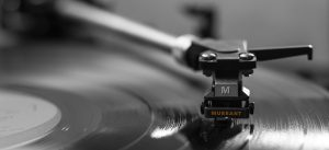 """Background image of record player for Murrant """"Msic"""" page"""