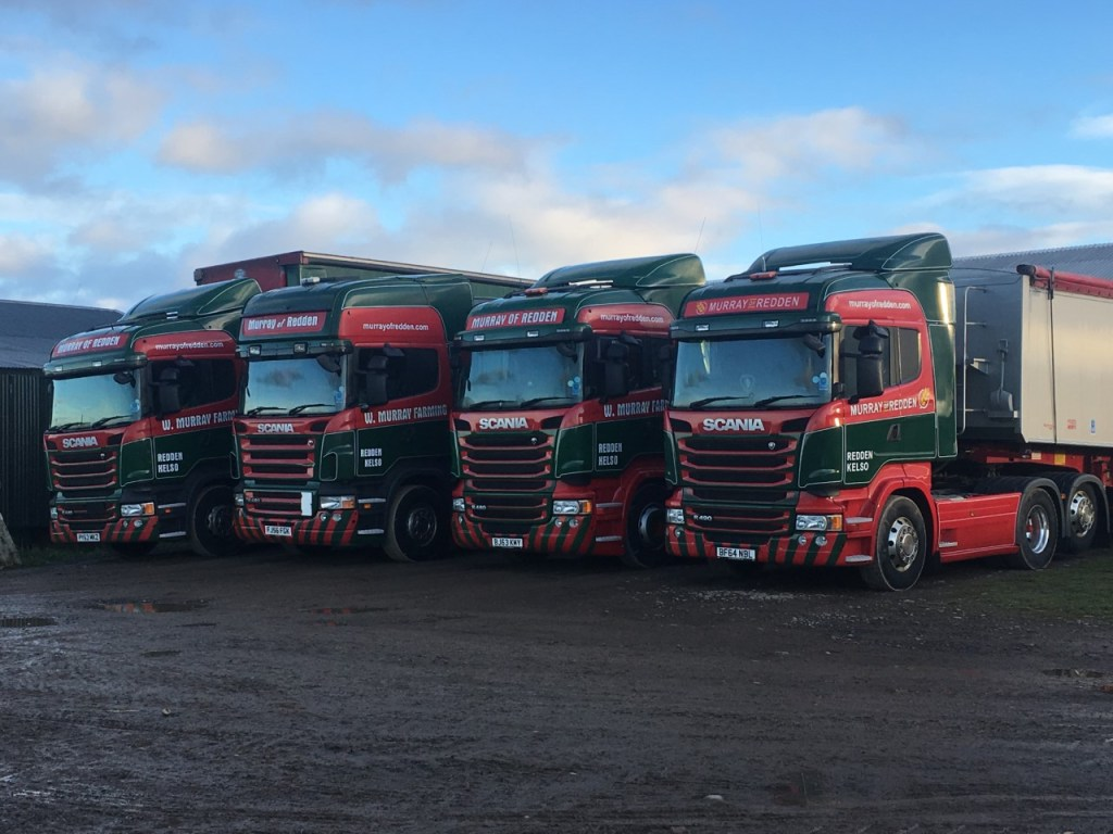 Murray of Redden lorries