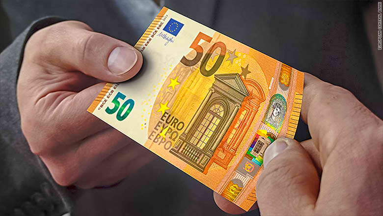 Look! Europe has new €50 banknote