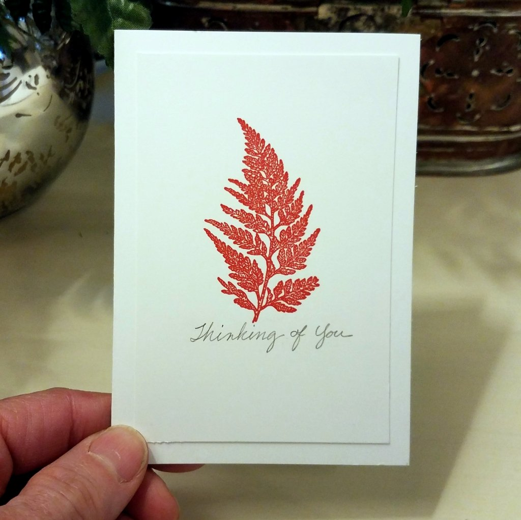 Single Stamp Notecards For Sophisticated Simplicity
