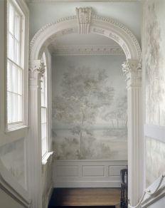 Susan Harte Barrington - hand-painted grisaille