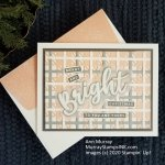Merry & Bright: Stampin' Up! Peace & Joy with Best Plaid