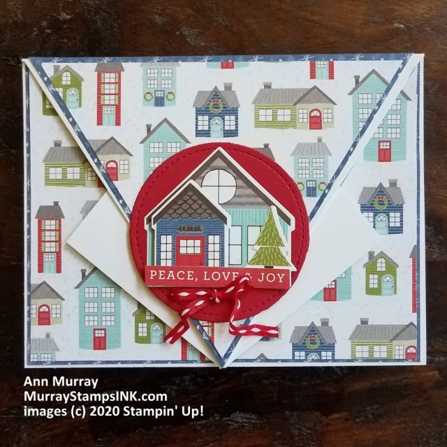 Christmas Arrow Fold card