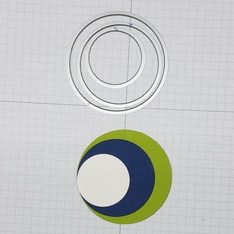layering circle dies