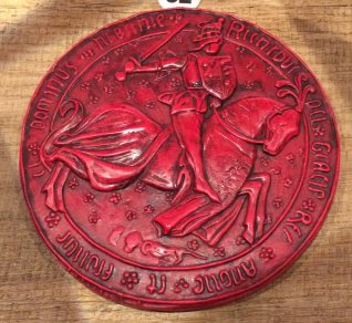 great seal - riii - red