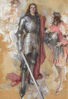 Howard Chandler Christy, The Young Knight, 1911
