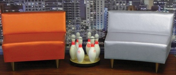 Amazing Mix And Match With Single Sections For Lounge Areas, Waiting Areas, Or For Bowling  Centers With Smaller Bowler Areas