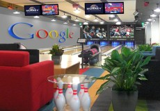 Google Office Bowling Alley