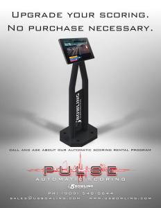 Pulse Bowling Scoring System Rental