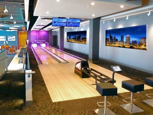 Home bowling alley construction, residential bowling alley builder
