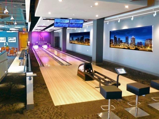 2 Bowling Lanes at The Marke