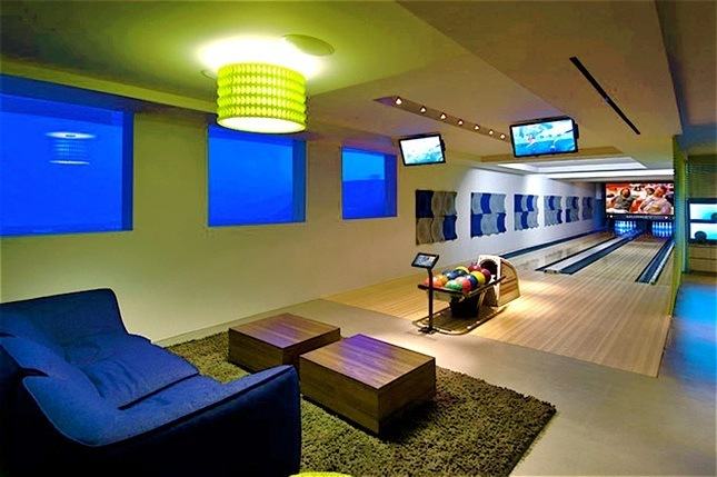 Residential Bowling Alley, Home Bowling Alley, Home Bowling Installations
