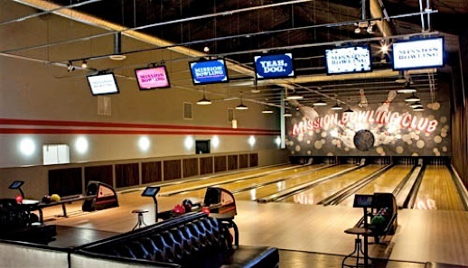 Building a Bowling Alley, Bowling Center