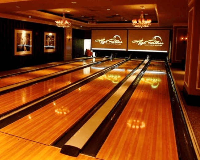 Private Club Bowling Alley