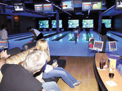 10 lane bowling package