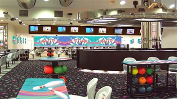 Air Force Bowling Alley