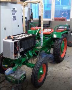 Elektro Umbau Traktor Holder 1965