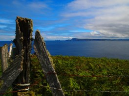 Erris head fence