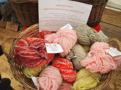 hand-dyed wools