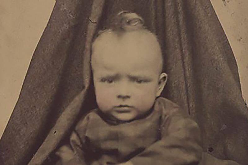 Fotografia dziecięca w dawnych czasach