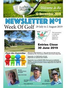 Newsletter Nº 1 2019-1