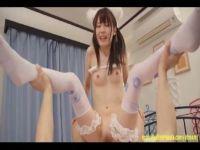 【無修正】激カワ色白美少女が猫耳コスプレをしてパイパンおめこを突かれてるセックス動画無料
