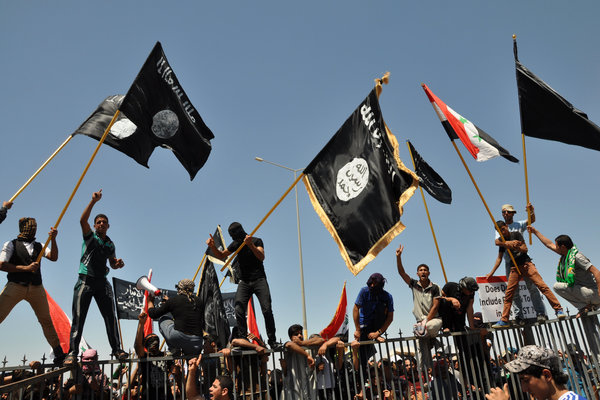 ISIS Flag, Iraq Protests
