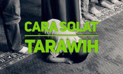 cara solat tarawih sendiri