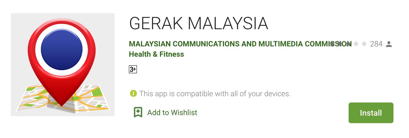 permohonan gerak malaysia