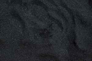 close up photo of black sand