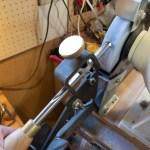 wood turning sharpening