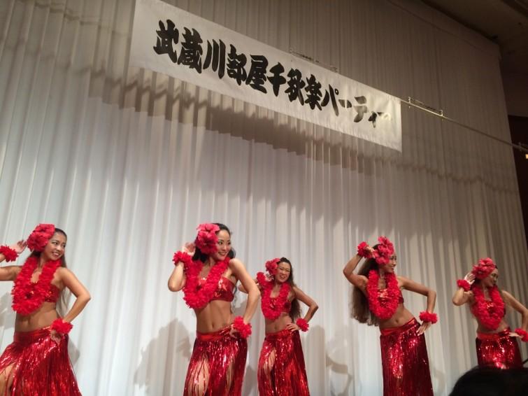 カマヌフラレアの皆さんによるフラダンス