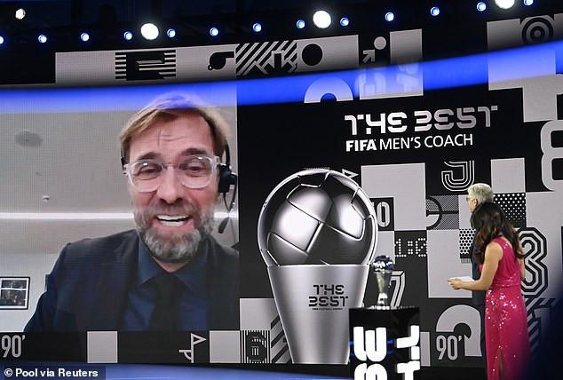 Liverpool manager, Jurgen Klopp wins men
