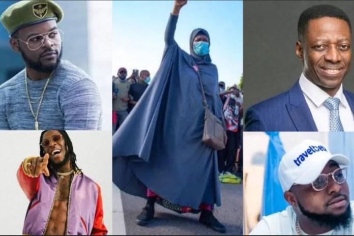 #EndSARS: Court stops prosecution of Davido, Pastor Sam Adeyemi and others