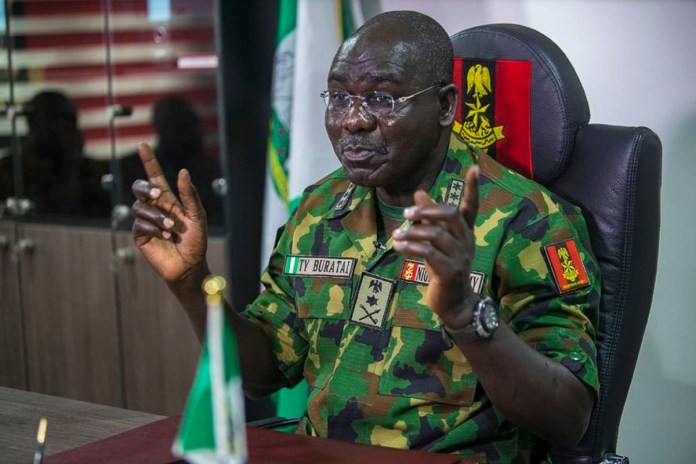 Obasanjo  nearly retired me from the army 21 years ago ? Buratai