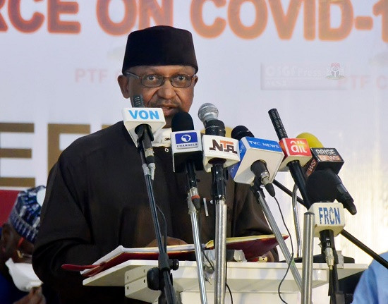 COVID19 vaccines carry a certain amount of risk - Minister of Health, Osagie Ehanire says