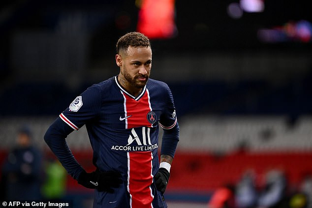 Neymar faces possible two-match Champions League ban for complaining about Barcelona?s penalty before declaring old team-mate Lionel Messi