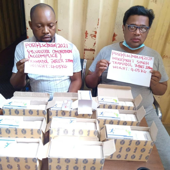 NDLEA intercepts container load of tramadol at Apapa port