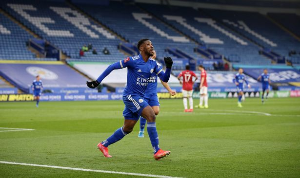 Iheanacho cooly netted in the first half before adding his second late on