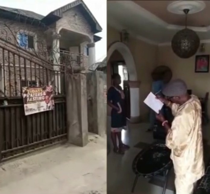 Commotion as man donates his family house to Christ Embassy, leaving his family members at risk of being homeless (video)
