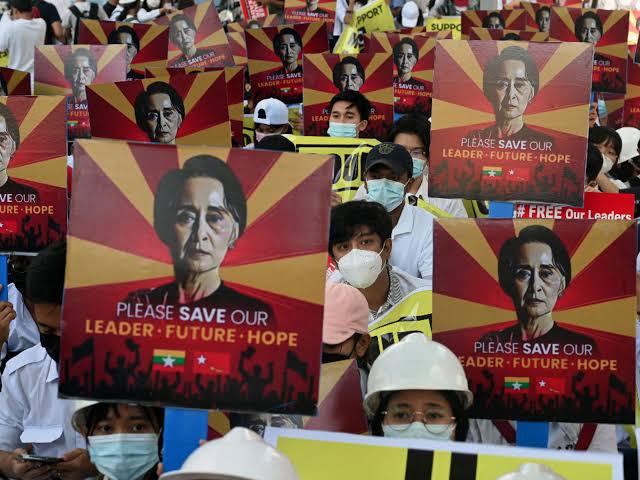 Myanmar protests: Military blocks internet in Myanmar as death toll surpasses 200