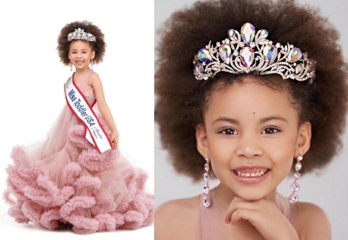 Meet the 5-year old Nigerian girl who won ?Miss Toddler USA 2021? (Photos)