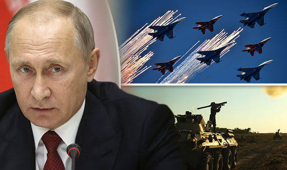 Fears Russia-Ukraine war could erupt in days as Russia deploys thousands of troops and nuclear weapons to border while US flies nuclear bombers nearby