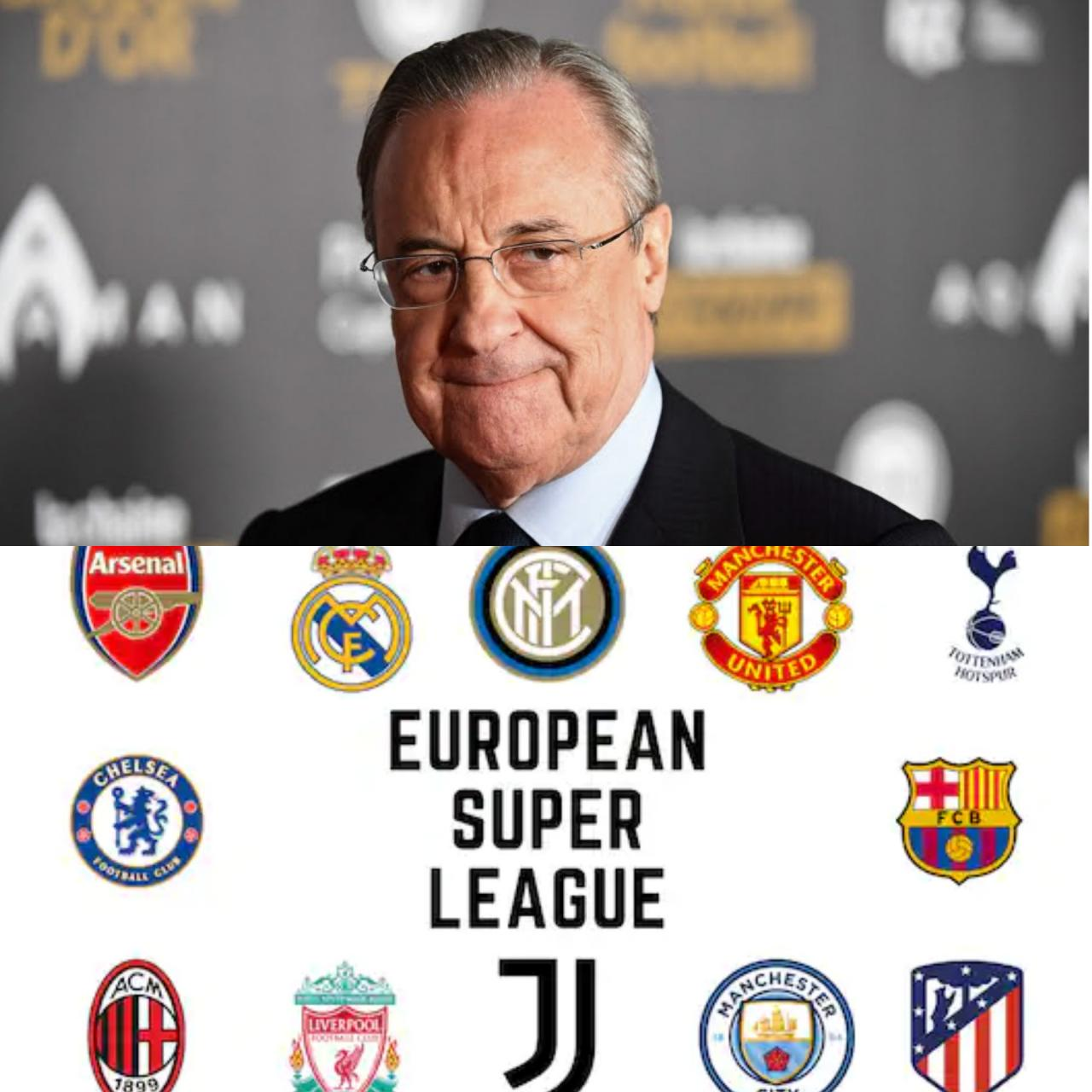 """""""We know the salary of LeBron James but we don?t know the salary of the UEFA president"""" - Madrid president Florentino issues strong defence of new Super league"""