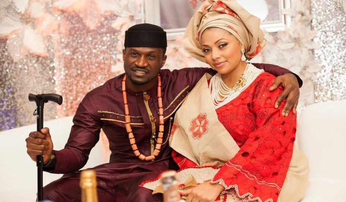 Peter Okoye narrates how he met his wife Lola Omotayo (video)
